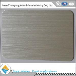 Buy cheap 6063 T6 Temper Aluminium Alloy Sheet 30mm X 1220mm X 2440mm Aluminum Brush Sheet product