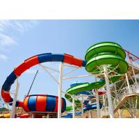 Buy cheap Water Park Slide For Family and Hotel Resort / Aqua Park Swimming Pool Equipment product