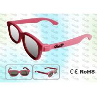 Buy cheap REALD Cinema Colorful kids Circular polarized 3D glasses product