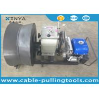 Buy cheap 3 Ton Cable Pulling Tools Cable Drum Winch with Yamaha Gas Engine Power from wholesalers