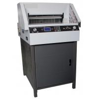 Buy cheap 490mm Electric Programmable Paper Cutter E460R / Tabletop Paper Cutter product