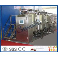 Buy cheap 10 m³/H Flow Rate 1000L CIP Cleaning System For Milk Processing Plant ISO 9001 / SGS / CE product