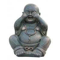 Buy cheap Fiber And Resin Lucky Laughing Indoor Buddha   for Indoor Outdoor Winter Decorations product
