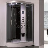 Buy cheap 5mm Gray Tempered Glass Shower Cubicle , Stand Alone Shower Enclosures product