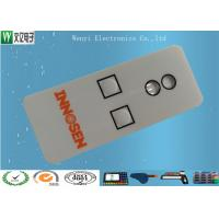 Buy cheap 3M 467 Membrane Polydome Switch With 0.5mm Embossing Height / 3 Nicomatic Metal Pin product
