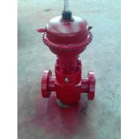 Buy cheap Easy Installation PSL1 - PSL4 Diaphragm Pneumatic API 6A Gate Valve for Water / Gas / Oil product