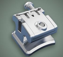 Buy cheap Dental Orthodontic Instruments Metal Self - Ligating Bracket product