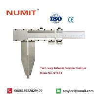 Quality Large 0-2500mm Long Jaw Vernier Caliper With Steel Sliding Pin Handles for sale