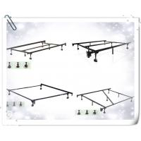 Buy cheap Heavy Duty 7-Leg Adjustable Metal Bed Frame with Center Support and Rug Rollers from wholesalers