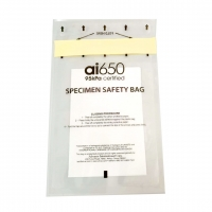Buy cheap FDA Heat Seal Medical Tourniquet 95KPA Specimen Bag product
