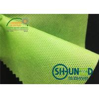Green Biodegradable PP Spunbond Non Woven Fabric Breathable For Agriculture and bag usage for sale