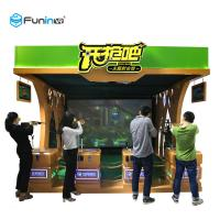 China Shooting Game Virtual Reality Machine 220V VR Publish Game Equipment Exciting Gun on sale