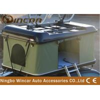 Buy cheap ABS Car Roof Rack Camping Tent , Popup Roof Tent With Bike Carrier / Rack product