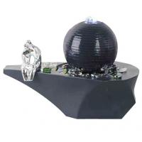 Buy cheap Cast Ball Lighted Tabletop Water Fountain , Small Table Water Fountains product
