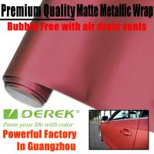 Buy cheap Matte Metallic Car Wrapping Films - Matte Metallic Red product