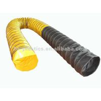 China Combining heat resistant flexible helix duct on sale