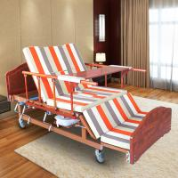 Buy cheap Single Folding Medical Beds For Home , Hospital Style Beds Aluminum Side Rails product