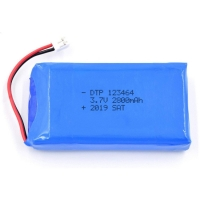Buy cheap UN38.3 2800mAh 3.7V Lithium Ion Rechargeable Battery product
