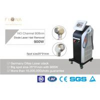 Buy cheap 810nm Alexandrite Laser Hair Removal Equipment , Salon Laser Hair Removal Machine 600W product