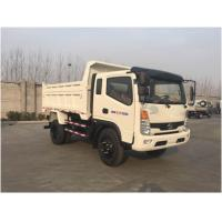 Buy cheap 10 T Payload Cargo Delivery Truck , Light Duty Tipper Truck production Projects product