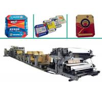 Buy cheap Flat & Glued Bottom Cement Kraft Paper Bag Making Machine with Servo System product