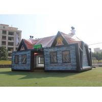 Buy cheap Giant Advertising Inflatable Tent , Inflatable House Tent 11 X 6 X 5.8 M product