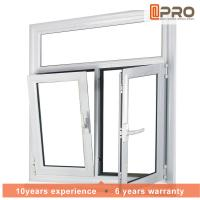 Buy cheap Adjusting Tilt And Turn Aluminium Windows With Screens Swing Open Style product