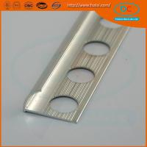 Buy cheap 6063 Glossy  Aluminum tile trim ,aluminum extrusion product