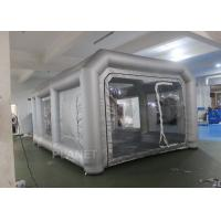 Buy cheap Environmental Mini Blow Up Spray Booth For Car Cover / Automotive Paint Booth product