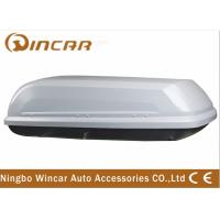 Buy cheap Single Open Black Car Roof Boxes in ABS Material 380L Capacity , 3mm ABS board product