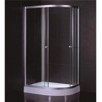 Buy cheap Oval Shape 1000 X 800 Quadrant Shower Enclosures And Tray With Low Resin Tray product