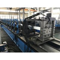 Quality 0.9 - 1.5mm Wire - electrode cutting Hat Roll Forming Machine 15 stations for sale
