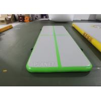 Buy cheap 3.5m Air Floor Tumbling Mat / Inflatable Air Jump Track For Gymnastics product