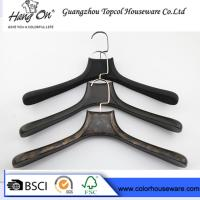 Buy cheap Black ABS Plastic Modern Clothes Hangers / Coat Hangers For Skirts from wholesalers