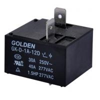 Quality General Purpose 40A DC Power Relay / Power PCB Relay GK-D-1C-12D for sale