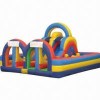 Buy cheap Inflatable Obstacle Course, Made of PVC product
