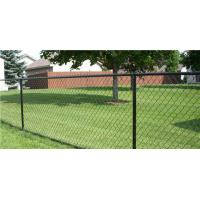 Buy cheap Green PVC coated Galvanized Chain Link Fence product
