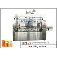 Buy cheap Automatic Linear Baby Food Paste Filling Machine With Servo Driven Pump product