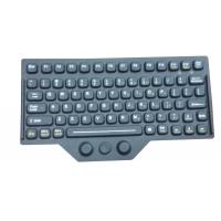 Buy cheap Customs Silicone Rubber Keyboard Layout Accessory With Carbon Conducting product