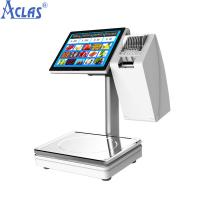 Buy cheap PC Touch Screen Scale,Touch Scales,POS Scales,Fiscal Cash Register,PC Scale product