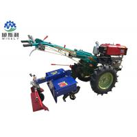Buy cheap 8-25 Hp Diesel Walk Tractor Small Farm Equipment With Planter Plough Ridger from wholesalers