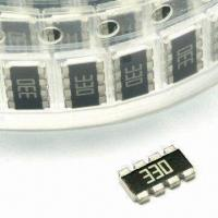 Buy cheap 0402 x 4 Thick Film SMD Chip Resistor Array (Convex) with 0 to 1M Resistance product