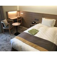 Buy cheap Comfortable Budget Hotel Apartment Furniture Sets With Plywood Panel Japanese Style product