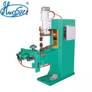 Buy cheap Hwashi Automatic Middle Ring Spot Welding Machine ,Electric Fan Guard Making Machine product