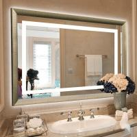 Buy cheap Frameless LED Backlit Mirror Wall Mounted Hotel Vanity Mirror from wholesalers