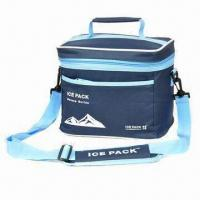 Buy cheap Lunch Cooler Bag with Aluminum or PVC Insulation, Made of 600D Polyester product