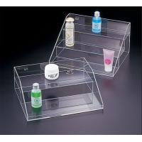 Buy cheap Transparent Acrylic Cosmetic Display , 3 Tier Acrylic Display Case with Drawers product