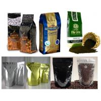 Buy cheap PET / AL / PE Coffee Valve Foil Bag Packaging Durable with Hang Hole product