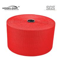 Buy cheap 50 Yards / Roll Mushroom Hook And Loop Red Nylon Injection Hook Wide Tape Heat from wholesalers