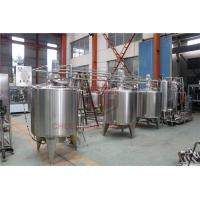 Buy cheap Stainless Steel Beverage Mixer Carbonated Drink Production Line With Piston Filling System product